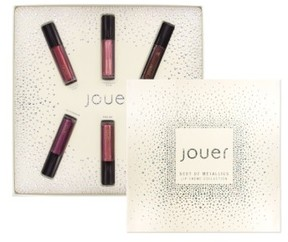 Jouer Best Of Metallics Mini Long-Wear Lip Creme Liquid Lipstick Collection - No Color