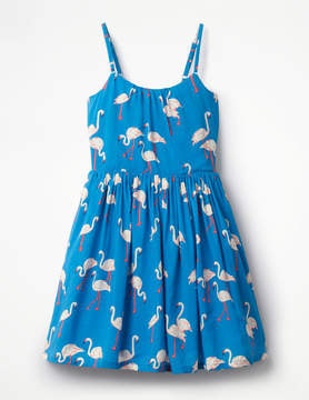 Boden Strappy Woven Dress