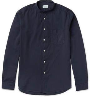 Hartford Premium Grandad-Collar Cotton Shirt