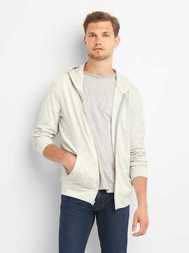Gap Marled zip hoodie