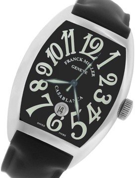 Franck Muller Casablanca Master of Complications 8880-C-DT Automatic Black Dial 46mm x 37mm Watch