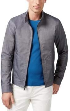 Michael Kors Harrington Canvas Pattern Jacket
