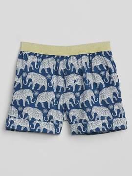 Gap Print Roll Shorts