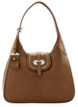 Dooney & Bourke Florentine Toscana Large Hobo Shoulder Bag. - ELEPHANT - STYLE