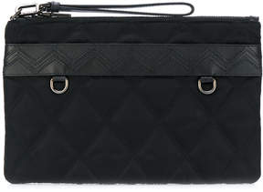 Prada quilted zipped clutch