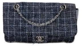 Chanel Tweed Jumbo Arty CC Flap Bag