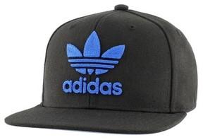 adidas Men's 'Trefoil Chain' Snapback Cap - Black