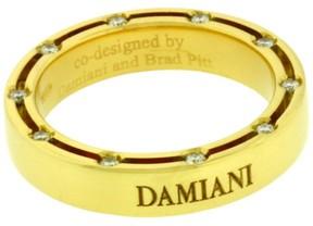 Damiani Brad Pitt 18K Yellow Gold Eternity Band Ring