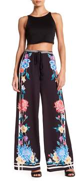 Flying Tomato Floral Palazzo Pants