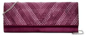 Jessica McClintock Ava Embellished Satin Clutch