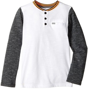 Hurley Baseball Raglan Knit Top Boy's Clothing