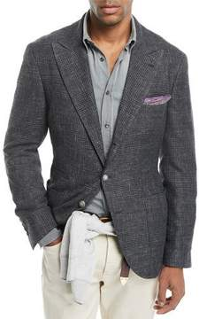 Brunello Cucinelli Prince of Wales Check Jacket