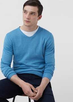 Mango Outlet Silk cotton-blend sweater