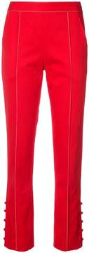 Rosie Assoulin Red Oboe Tailored Pants