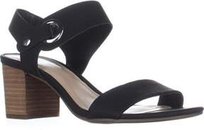 Bar III B35 Birdie Block Heel Dress Sandals, Black.