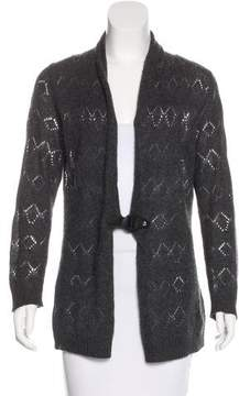 Cynthia Rowley Cashmere Open Knit Cardigan