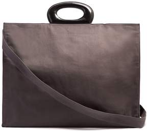 LEMAIRE Contrast-handle canvas tote