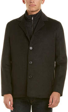 Hart Schaffner Marx Triple Play Wool-Blend Coat
