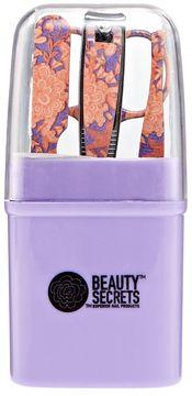 Beauty Secrets Floral Travel Size Mani Kit