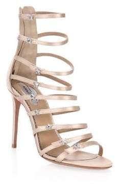Aquazzura Claudia Schiffer X Crystal Star Sandals
