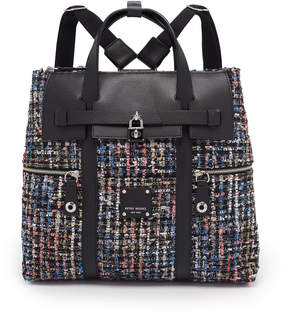 Henri Bendel Jetsetter Convertible Tweed Backpack