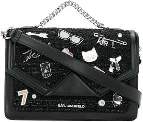 Karl Lagerfeld Klassik Pins shoulder bag