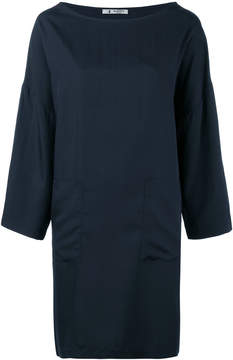 Barena patch pocket shift dress