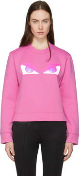 Fendi Pink Bag Bugs Sweatshirt