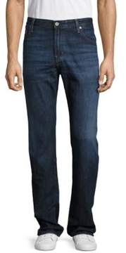 AG Adriano Goldschmied Cotton-Blend Five-Pocket Jeans