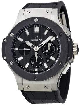 Hublot Big Bang Evolution Automatic Chronograph Black Carbon Fiber Dial Men's Watch