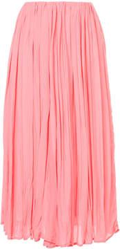08sircus long pleated skirt