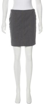 CNC Costume National Wool Mini Skirt