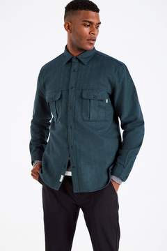 Jack Wills Dundry Wool Rich Flannel Shirt
