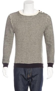 Carven Crew Neck Knit Sweater