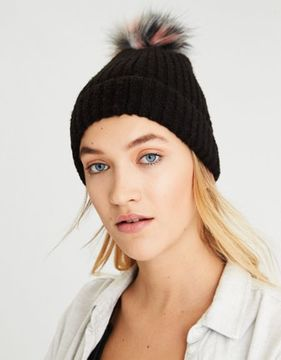 American Eagle Outfitters AE Pom Donegal Beanie