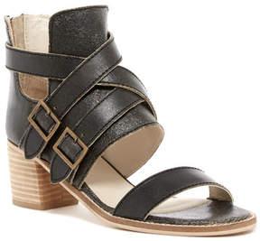 Kelsi Dagger Brooklyn Grant Distressed Leather Block Heel Sandal