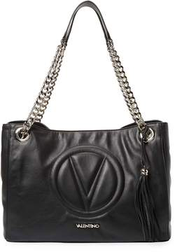 Mario Valentino Valentino by Women's Verra Chain Strap Leather Tote