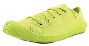 Palladium Flex Lace M Round Toe Canvas Sneakers.
