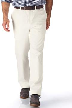 Charles Tyrwhitt White Classic Fit Flat Front Weekend Cotton Chino Pants Size W32 L30
