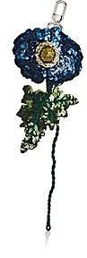Altuzarra Women's Sequined Flower Bag Charm - Blue