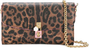 Dolce & Gabbana Dolce clutch - BROWN - STYLE