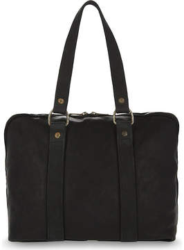 Guidi Small horse leather holdall