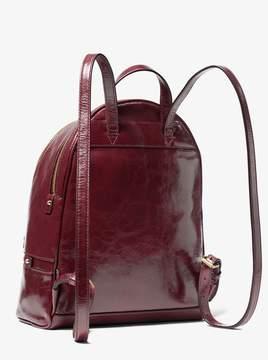 MICHAEL Michael Kors Rhea Medium Crinkled Calf Leather Backpack