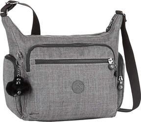 Kipling Gabbie nylon shoulder bag - BLACK SCALE EMB - STYLE
