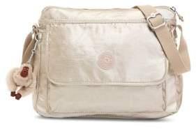 Kipling Aisling Metallic Crossbody Bag - SILVER - STYLE