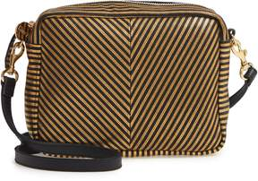 Clare Vivier Midi Sac Disco Stripe Leather Crossbody Bag