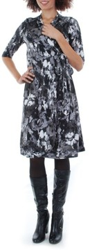 Everly Grey Women's Mila Wrap Maternity/nursing Dress