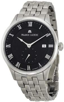 Maurice Lacroix Masterpiece Automatic Black Dial Men's Watch