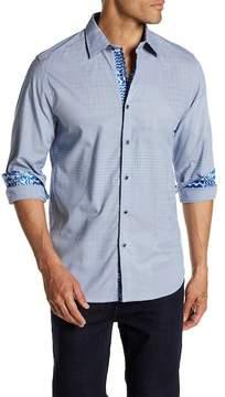 Robert Graham Slim Fit Long Sleeve Woven Dress Shirt
