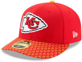 New Era Kansas City Chiefs Sideline Low Profile 59FIFTY Fitted Cap